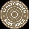 13 aktywnych substancji